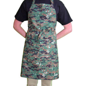 Delantal Pechera Tipo Militar